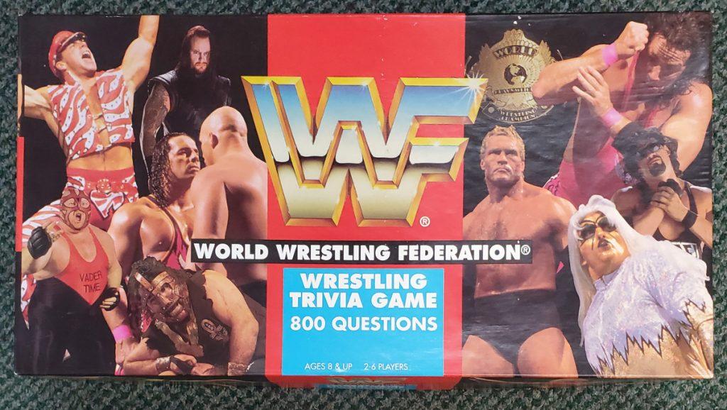 Cardinal WWF Wrestling Trivia Game 1