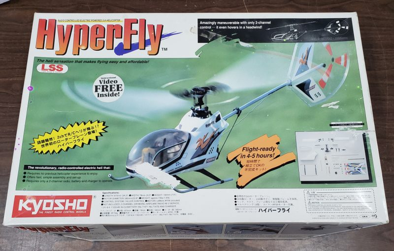 Kyosho Hyper Fly Radio Controlled Helicopter with Futaba Control System 1