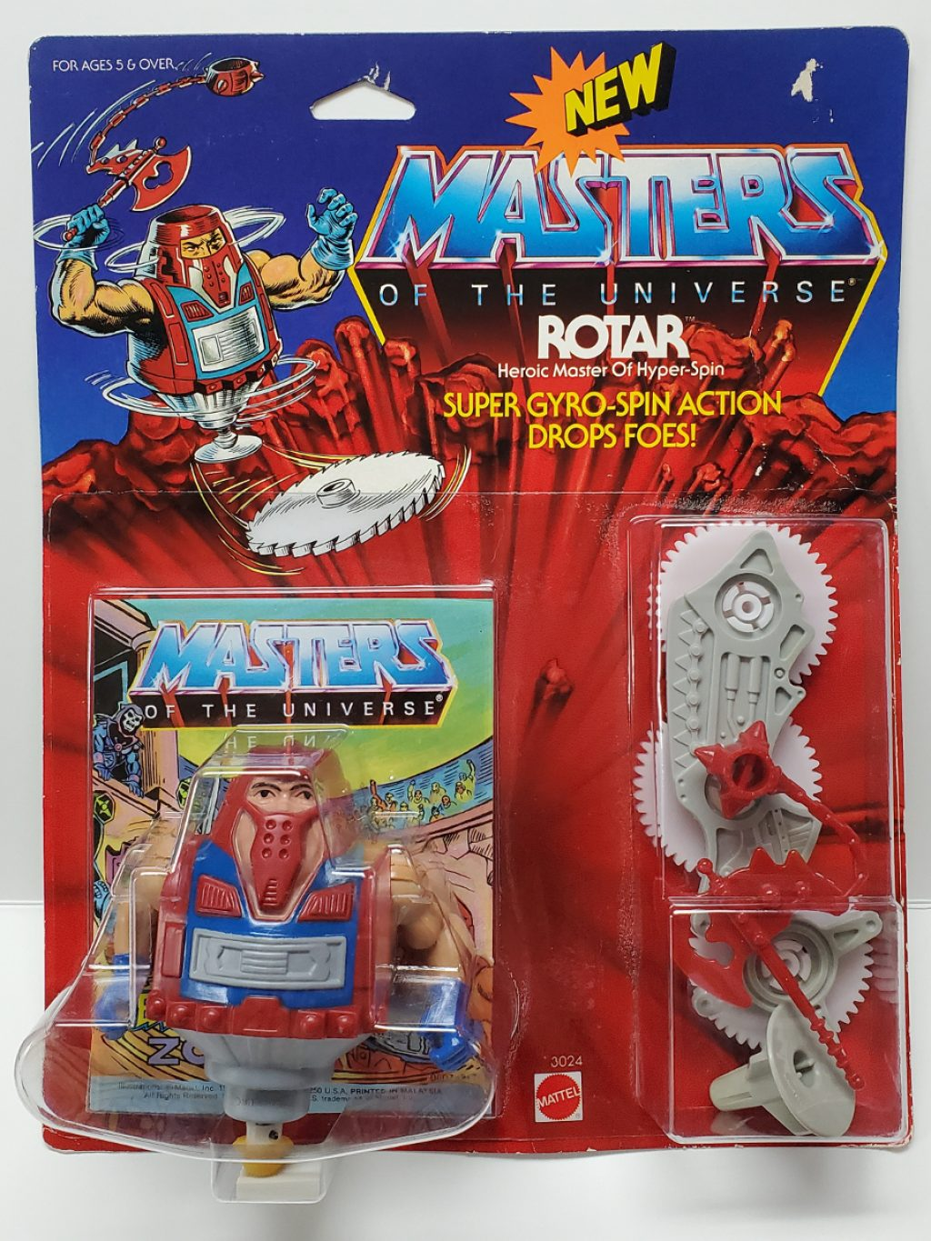 1986 Masters of the Universe (MOTU) Rotar Action Figure 1