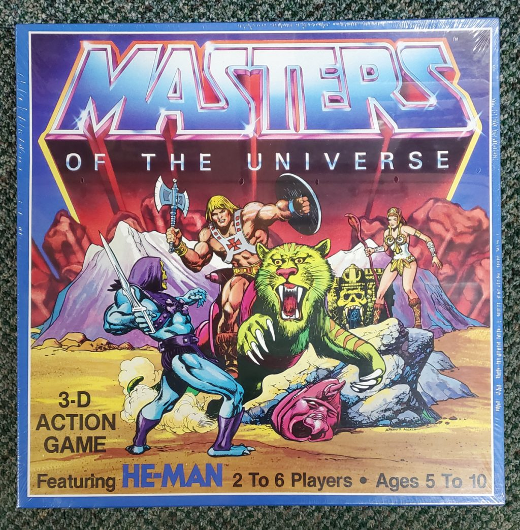 1983 Masters of the Universe (MOTU) 3-D Action Game 1