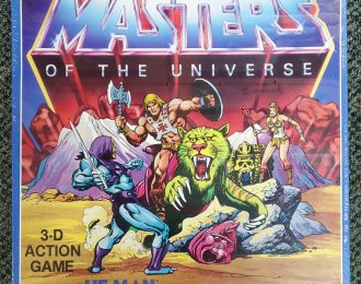 1983 Masters of the Universe (MOTU) 3-D Action Game Mint in Factory Sealed Box