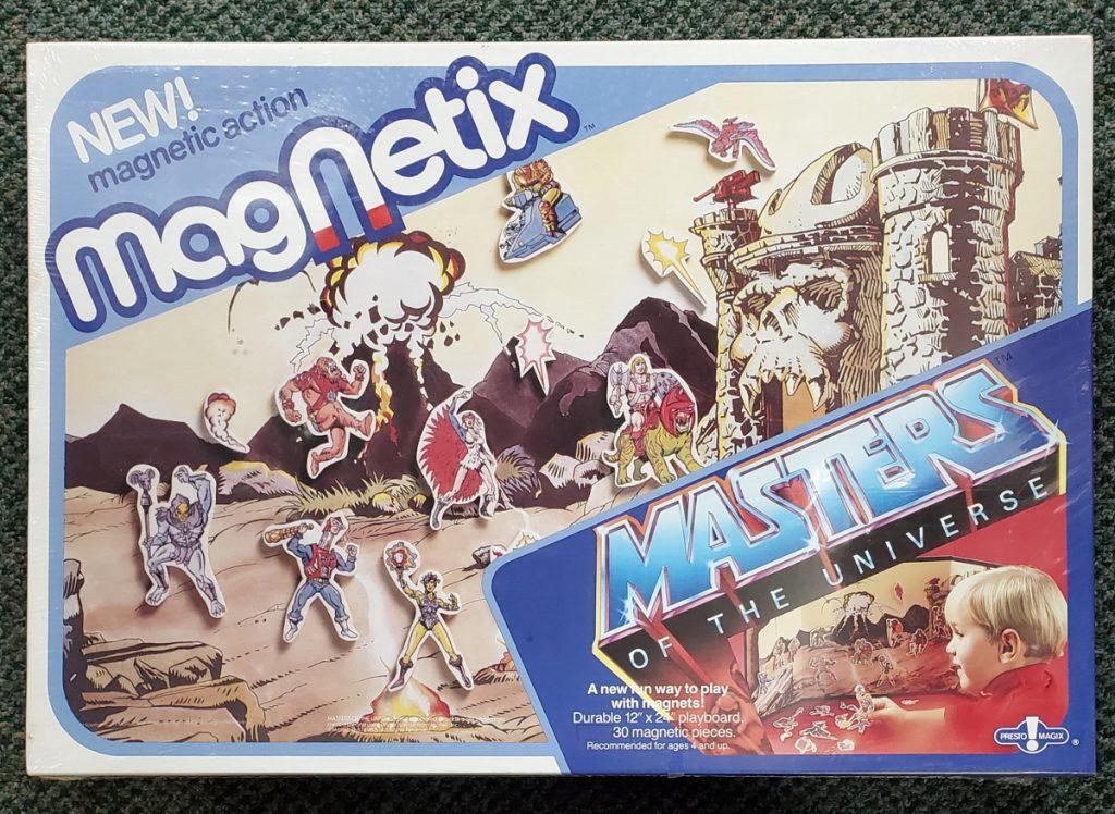 1985 Masters of the Universe (MOTU) Presto Magix Magnetix Playset