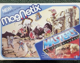 1985 Masters of the Universe (MOTU) Presto Magix Magnetix Playset Mint in Factory Sealed Box