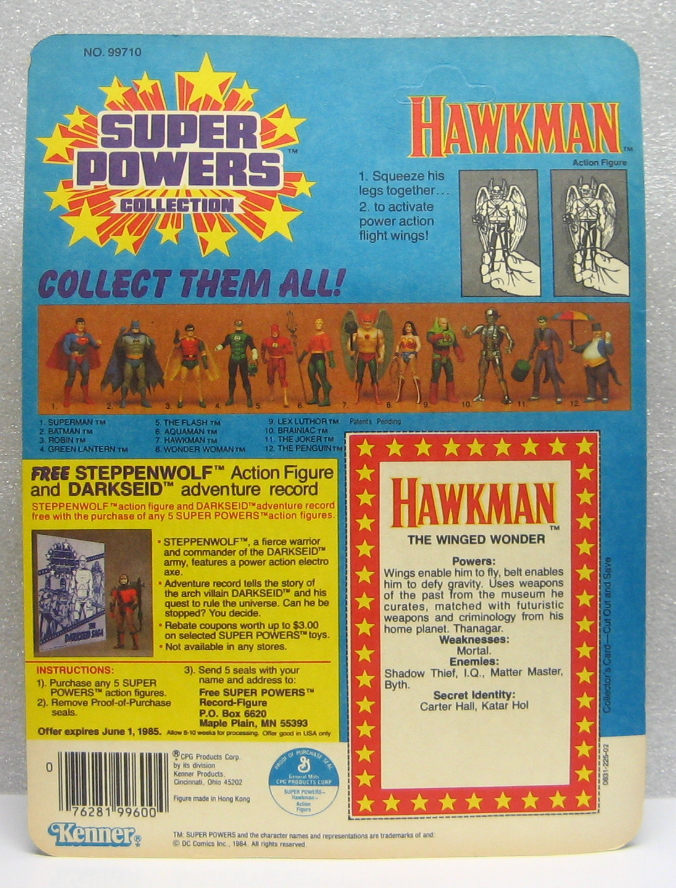 Super Powers Hawkman 2
