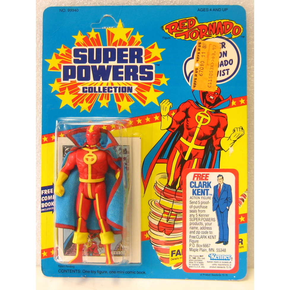 Super Powers Red Tornado - front