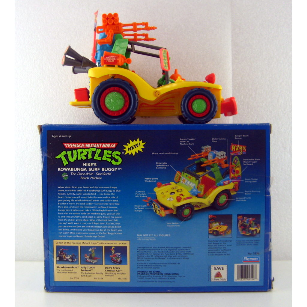 TMNT Mike's Kowabunga Surf Buggy - back