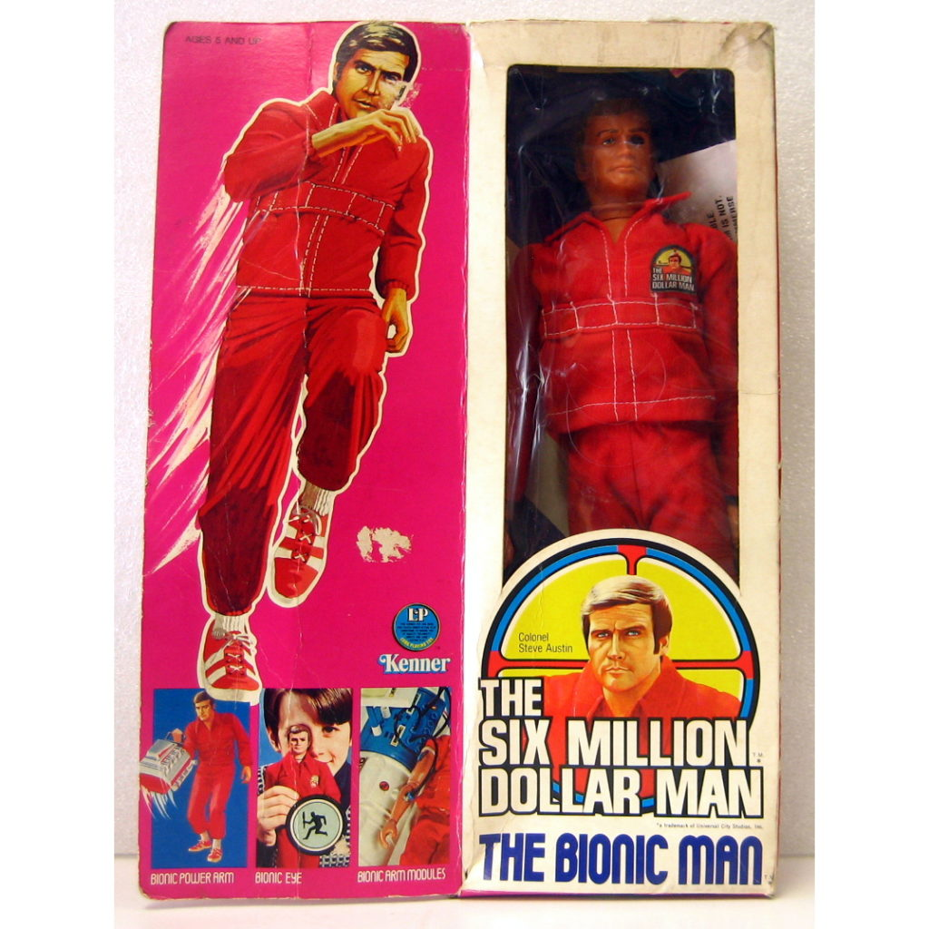 SIX MILLION DOLLAR MAN FRONT
