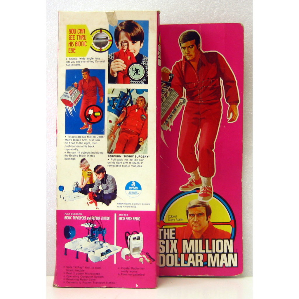 SIX MILLION DOLLAR MAN BACK