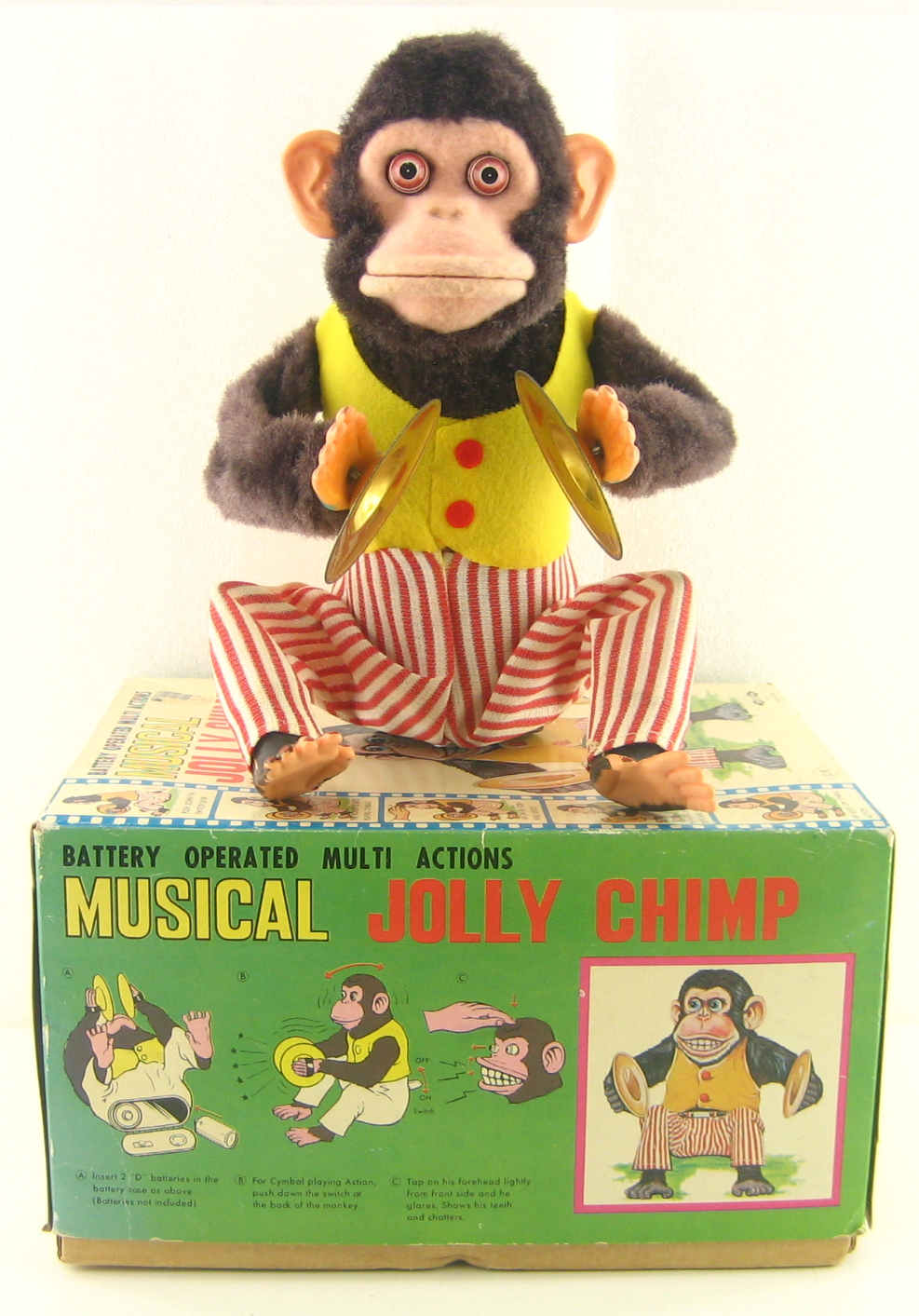 Jolly Chimp - facing