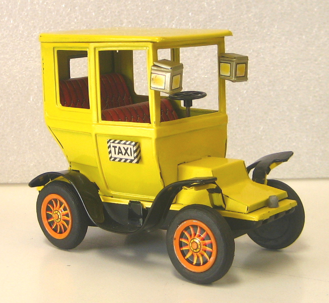 Bandai Tin Friction Taxi 1