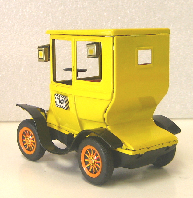 Bandai Tin Friction Taxi 4