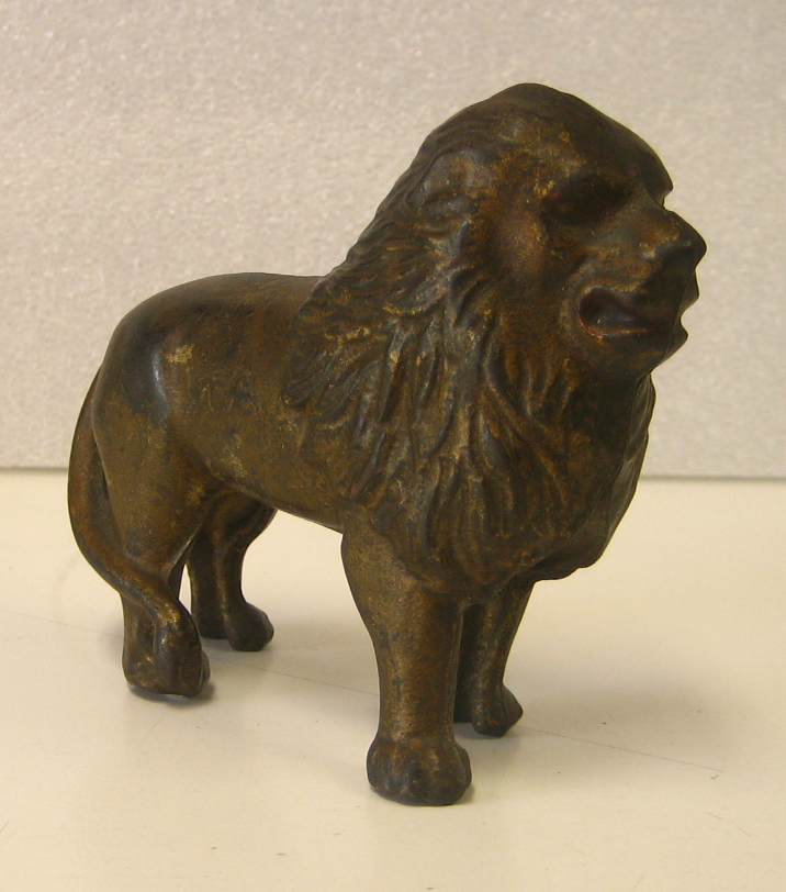 Cast Iron Lion Bank 1